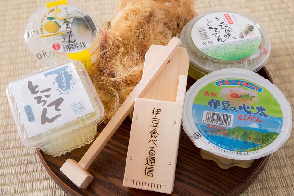 伊豆食べる通信7月号の食材